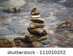 beach. | Shutterstock . vector #111010352