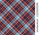 seamless tartan vector pattern   Shutterstock .eps vector #1110109298
