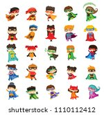 cartoon vector illustration of... | Shutterstock .eps vector #1110112412