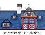 reconstructed half timpered... | Shutterstock . vector #1110135962