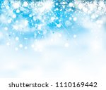 vector  abstract  blue  sparkle ... | Shutterstock .eps vector #1110169442