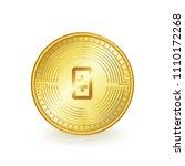 theta token cryptocurrency coin ... | Shutterstock .eps vector #1110172268