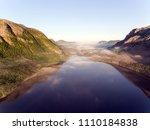 beautiful nature norway natural ... | Shutterstock . vector #1110184838