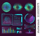 futuristic interface space...