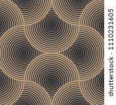 geometric pattern vector.... | Shutterstock .eps vector #1110231605