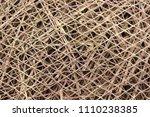 bamboo weaving design | Shutterstock . vector #1110238385