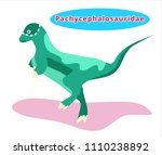 cute dinosaur... | Shutterstock .eps vector #1110238892