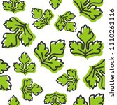 vegetable seamless pattern ... | Shutterstock .eps vector #1110261116