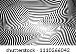 the illusion of the lines in... | Shutterstock .eps vector #1110266042