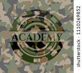 academy camo academy on camo... | Shutterstock .eps vector #1110269852