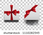 closed low and high boxes with... | Shutterstock .eps vector #1110282545