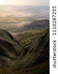 deep valley between the... | Shutterstock . vector #1110287255
