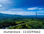 an aerial view of rural and...   Shutterstock . vector #1110294662
