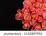 Set Of Bouquet Orange Rose On...