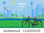 illustration vector flat... | Shutterstock .eps vector #1110325145
