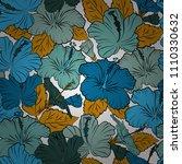 vector illustration. seamless... | Shutterstock .eps vector #1110330632