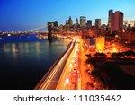 new york city manhattan... | Shutterstock . vector #111035462
