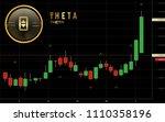 theta token cryptocurrency coin ... | Shutterstock .eps vector #1110358196