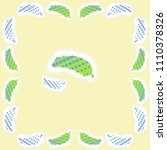 cucumbers halftone pattern ... | Shutterstock . vector #1110378326