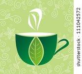 vector illustration of green... | Shutterstock .eps vector #111042572