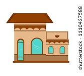 isoalted coffee shop   Shutterstock .eps vector #1110437588