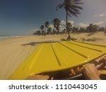 buggy on a brazilian paradise...   Shutterstock . vector #1110443045