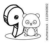 cute animals design | Shutterstock .eps vector #1110460802