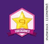 video games design | Shutterstock .eps vector #1110469865