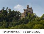 lichtenstein castle view from... | Shutterstock . vector #1110472202