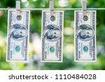 money laundering. money...   Shutterstock . vector #1110484028