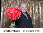 a happy middle aged man in a...   Shutterstock . vector #1110501446
