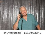a happy middle aged man in a...   Shutterstock . vector #1110503342