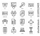 set of 16 icons such as sand...