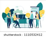 vector illustration  online... | Shutterstock .eps vector #1110532412