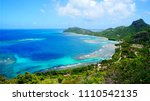 breathtaking view over richmond ... | Shutterstock . vector #1110542135
