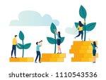 vector creative illustration of ... | Shutterstock .eps vector #1110543536