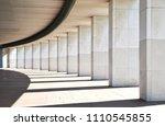 row of columns   | Shutterstock . vector #1110545855