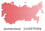 red circle dot ussr map.... | Shutterstock .eps vector #1110579356