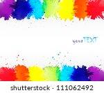 Vector Watercolor Rainbow...