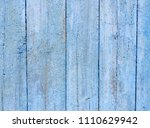blue wood plank retro background | Shutterstock . vector #1110629942