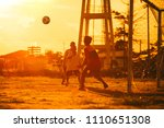 an action sport picture of a... | Shutterstock . vector #1110651308