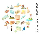 operand icons set. cartoon set... | Shutterstock .eps vector #1110651905