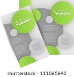 brochure design | Shutterstock .eps vector #111065642