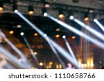 stage lightning during street... | Shutterstock . vector #1110658766