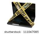Computer Crime Scene   A Lapto...