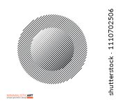 minimalistic art modern... | Shutterstock .eps vector #1110702506
