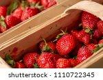 Strawberries In Wooden Baskets...