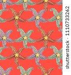 seamless pattern. luxury... | Shutterstock .eps vector #1110733262