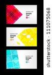 3 vector background | Shutterstock .eps vector #111075068