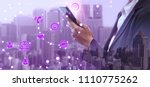 internet of things  iot  | Shutterstock . vector #1110775262